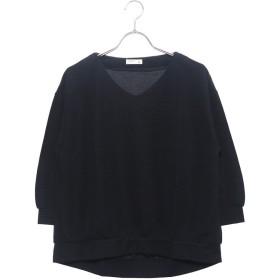 イグニオ IGNIO レディース 長袖Tシャツ リップルVネックTシャツ(7分袖) LPリップルVネック7S