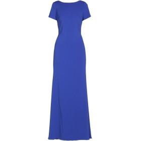 《セール開催中》BADGLEY MISCHKA レディース ロングワンピース&ドレス ブルー 0 ポリエステル 98% / ポリウレタン 2%