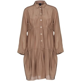 《送料無料》ASPESI レディース ミニワンピース&ドレス キャメル 40 100% シルク