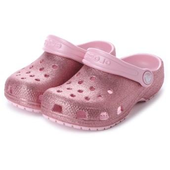 クロックス CROCS ジュニア (キッズ・子供) クロッグサンダル Classic Glitter Clog Kids 205441-682 ミフト mift