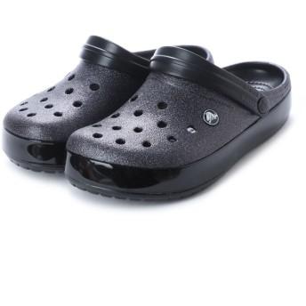クロックス crocs クロッグサンダル Crocband Glitter Clog 205419-001 (ブラック) ミフト mift