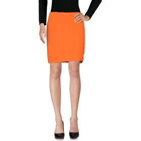 《期間限定セール開催中!》VERSACE レディース ひざ丈スカート オレンジ 38 51% レーヨン 46% アセテート 3% ポリウレタン