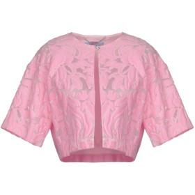 《セール開催中》BLUMARINE レディース テーラードジャケット ピンク 42 93% コットン 4% シルク 3% ナイロン ポリエステル