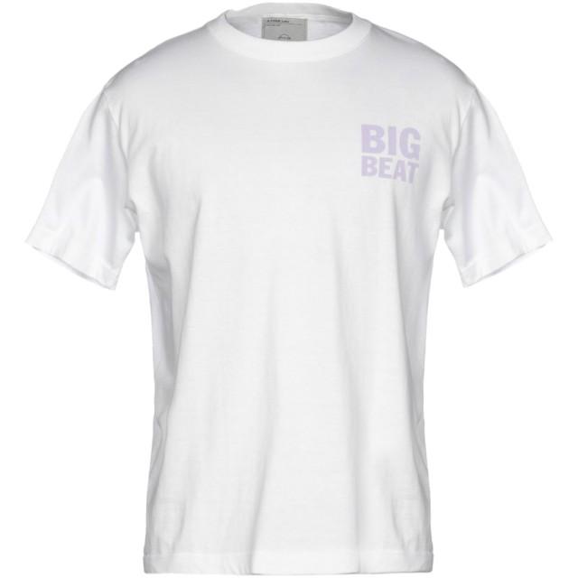 《期間限定セール開催中!》A. FOUR LABS メンズ T シャツ ホワイト S コットン 100%