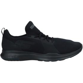 《セール開催中》SKECHERS レディース スニーカー&テニスシューズ(ローカット) ブラック 5 紡績繊維