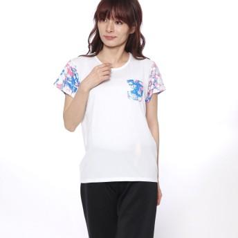 ルコックスポルティフ LE COQ SPORTIF レディース 半袖機能Tシャツ ハンソデシャツAP QMWMJA39MA