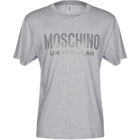 《セール開催中》MOSCHINO メンズ アンダーTシャツ グレー XS 100% コットン
