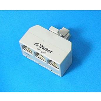 【JVC】 電話機コード TF-C15-W 電話機コード