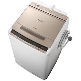 【日立】 全自動洗濯機 BW-V80C N 全自動8kg以上