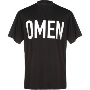 《セール開催中》PRAY FOR US メンズ T シャツ ブラック S コットン 100%