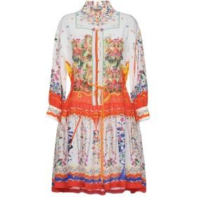 《期間限定セール開催中!》PICCIONE. PICCIONE レディース ミニワンピース&ドレス オレンジ 40 100% シルク