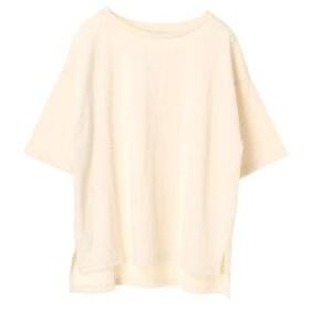 イーハイフンワールドギャラリー E hyphen world gallery 5SワイドスリーブTシャツ (Off White)