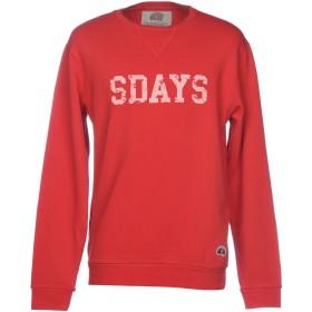 《期間限定セール開催中!》SDAYS メンズ スウェットシャツ レッド S 100% コットン