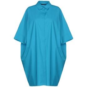 《期間限定 セール開催中》BRIAN DALES レディース ミニワンピース&ドレス ターコイズブルー 40 97% コットン 3% ポリウレタン