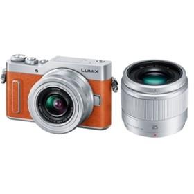 【パナソニック】 小型一眼カメラ 2本レンズキット(単焦点+標準ズーム) 4K LUMIX(ルミックス) DC-GF10W-D デジタル一眼カメラ