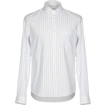 《セール開催中》GOLDEN GOOSE DELUXE BRAND メンズ シャツ ホワイト S コットン 100%