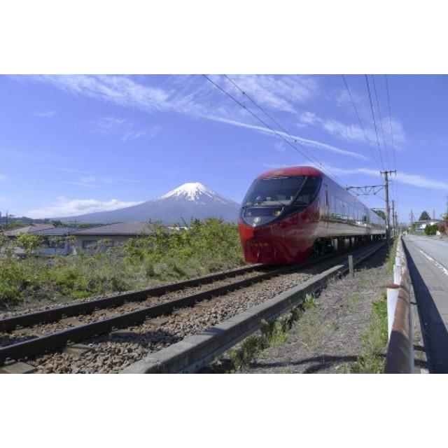 「富士山ビュー特急」スイーツプラン乗車券と富士急行線復路普通乗車券