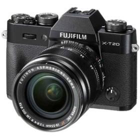 【フジフイルム】 小型一眼カメラ 1本レンズキット(標準ズーム) 4K X-T20LK-B デジタル一眼カメラ