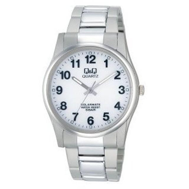 【ゆうパケットで送料無料(3)】シチズン時計 Q&Q 男性用 ソーラー電源 腕時計 スタンダード&スポーツ H970-204