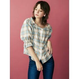 dazzlin チェックシャツ