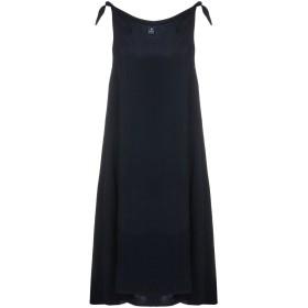 《セール開催中》EUROPEAN CULTURE レディース ミニワンピース&ドレス ダークブルー XS 100% キュプラ