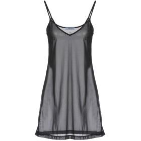 《期間限定セール開催中!》BLUMARINE レディース ミニワンピース&ドレス ブラック 40 100% ナイロン