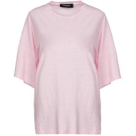《期間限定セール開催中!》DSQUARED2 レディース T シャツ ライトピンク XS コットン 100%