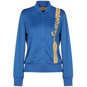 《セール開催中》WRANGLER レディース スウェットシャツ ブルー XS ポリエステル 100%