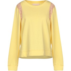 《送料無料》BETTY BLUE レディース スウェットシャツ イエロー 42 100% コットン