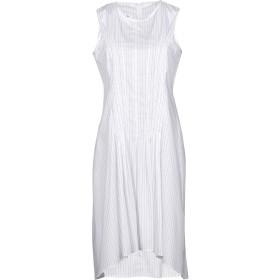 《期間限定セール開催中!》MM6 MAISON MARGIELA レディース ミニワンピース&ドレス ホワイト 36 100% コットン