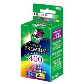 【フジフイルム】 35mmカラーネガフィルム 135 PREMIUM 400-R 27EX 3SB 35ミリフィルム