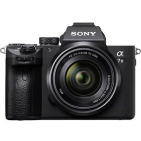 【ソニー】 小型一眼カメラ 1本レンズキット(標準ズーム) 4K α(アルファ) ILCE-7M3K デジタル一眼カメラ