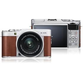 【フジフイルム】 小型一眼カメラ 1本レンズキット(標準ズーム) X-A5LK-BW デジタル一眼カメラ