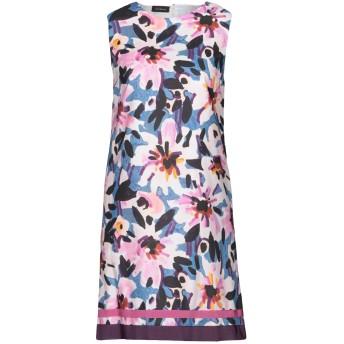 《セール開催中》LES COPAINS レディース ミニワンピース&ドレス ピンク 42 コットン 100% / レーヨン