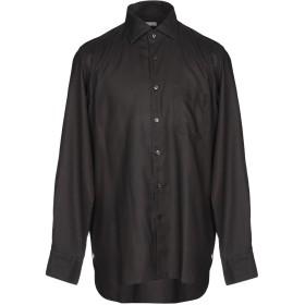 《9/20まで! 限定セール開催中》BORSA メンズ シャツ スチールグレー 42 100% コットン