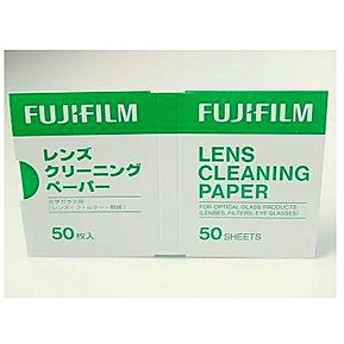 【フジフイルム】 レンズクリ-ニングペ-パ- LENS CLEANING PAPER50 メンテナンス用品