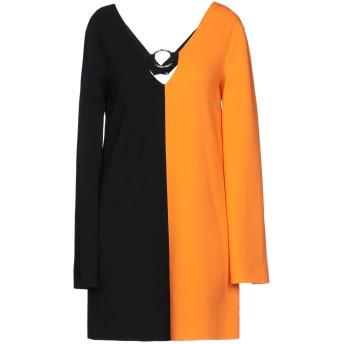《セール開催中》FAUSTO PUGLISI レディース ミニワンピース&ドレス オレンジ 42 94% レーヨン 6% テンセル