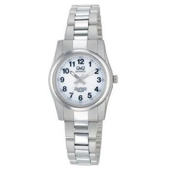 【ゆうパケットで送料無料(3)】シチズン時計 Q&Q 女性用ソーラー腕時計 スタンダード&スポーツ H971-204