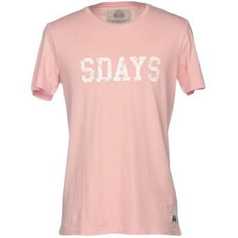 《セール開催中》SDAYS メンズ T シャツ ピンク XXL コットン 100%