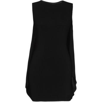 《セール開催中》DSQUARED2 レディース ミニワンピース&ドレス ブラック XS レーヨン 91% / ナイロン 8% / ポリウレタン 1%