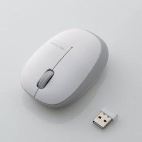 【エレコム】 BlueLEDマウス/無線/3ボタン/軽量 M-BL20DBSV マウス・タブレット