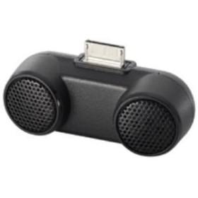 【ロジテック】 Walkman専用コンパクトスピーカー LDS-WMP500BK ミニスピーカー