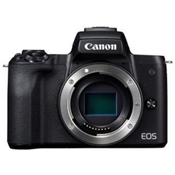 【キヤノン】 小型一眼カメラ ボディ 4K EOS(イオス) KISSM-BODY(BK) デジタル一眼カメラ