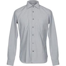 《期間限定セール開催中!》BORSA メンズ シャツ ブルー 39 100% コットン
