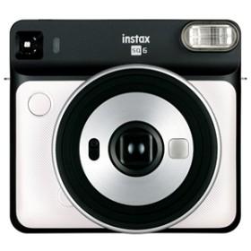 【フジフイルム】 インスタントカメラ INS SQ 6 PEARL WHITE インスタントカメラ