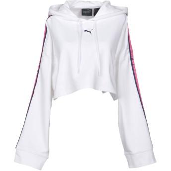 《期間限定セール開催中!》FENTY PUMA by RIHANNA レディース スウェットシャツ ホワイト XS コットン 78% / ポリエステル 17% / ポリウレタン 5%
