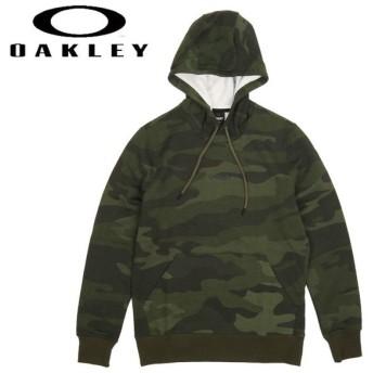 OAKLEY オークリー STREET LOGO HOODED CAMO FLEECE 472431 【日本正規品/パーカー/プルオーバー/フーディ】