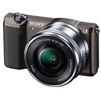 【ソニー】 小型一眼カメラ 1本レンズキット(電動ズーム) α(アルファ) ILCE-5100L T デジタル一眼カメラ