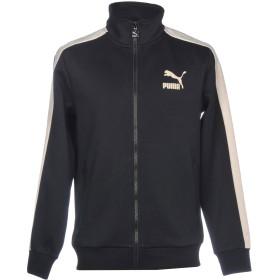 《期間限定 セール開催中》PUMA メンズ スウェットシャツ ブラック S コットン 96% / ポリウレタン 4%