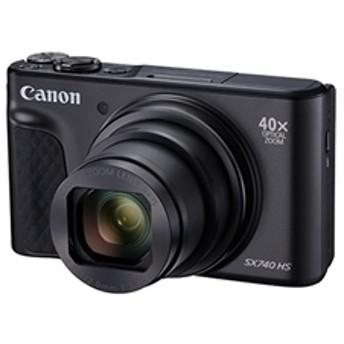 【キヤノン】 高倍率コンパクトカメラ 4K PSSX740HS(BK) デジタルカメラ